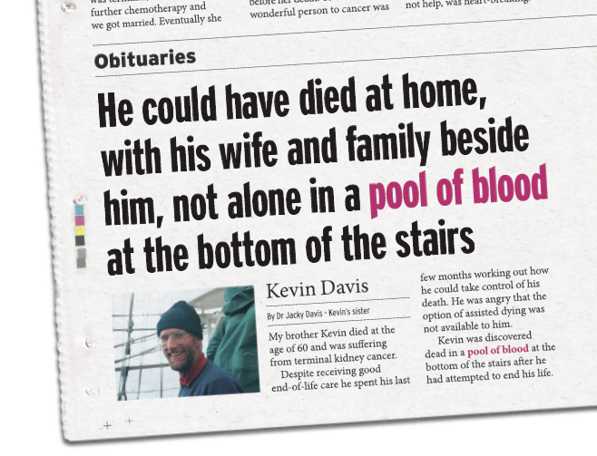 Kevin Davis Obituary
